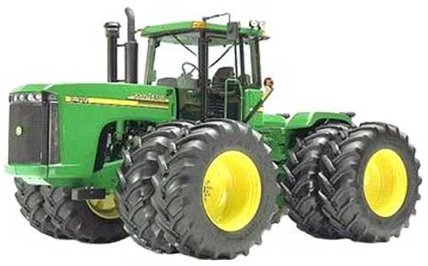 Трактор колесный (John Deere 9020)