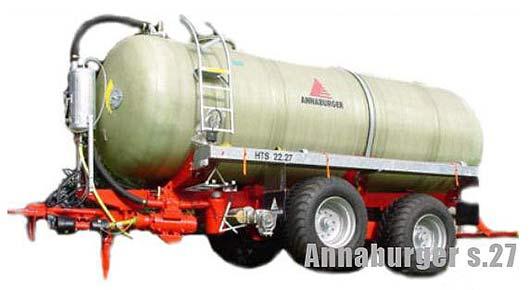 Кузов-цистерна для жидкого навоза (Annaburger)
