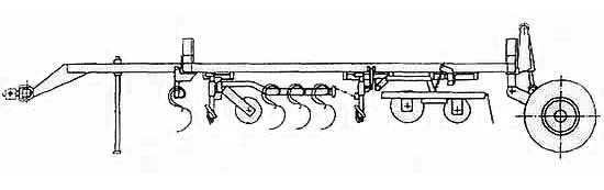 Культиватор комбинированный для предпосевной подготовки почвы (КППШ-6)