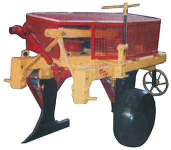 Плуг 2-х корпусный лемешно-роторный (ПЛР-2)