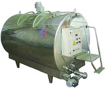 Резервуар-охладитель молока закрытого типа (Г6-ОРМ-2500 (3500, 5000))