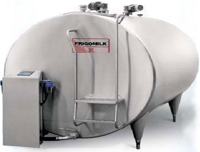Танк-охладитель молока горизонтальный (Frigomilk G9)