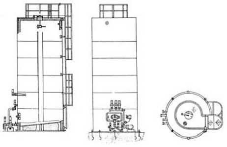 Резервуар для хранения молока (В2-ОХР-25 (50))