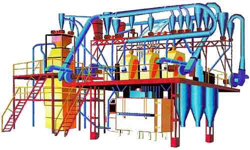 Крупозавод и овсозавод агрегатные (А1-АКП(О)-0,5)