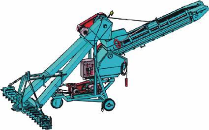 Зернопогрузчик самопередвижной (ЗПС-100А-02)