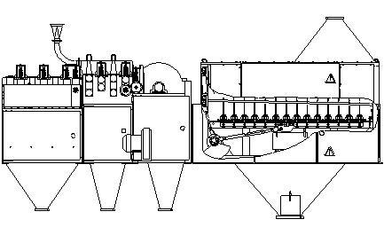Модуль куделеприготовительный (МКП-1Л)