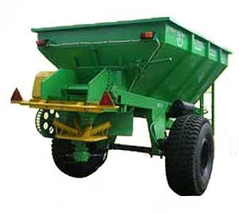 Машина для рассеивания минеральных удобрений (МРД-4)