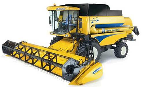 Комбайн зерноуборочный (New Holland CSX 7000)