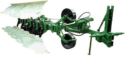 Плуг 5-7-ми корпусный оборотный полунавесной (ПОН-5(7)-40)