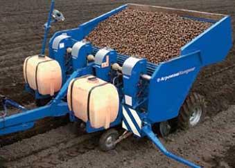 Машина картофелепосадочная (КСП 4(6))