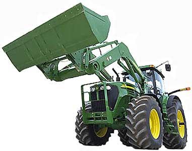 Погрузчик для сельскохозяйственного трактора (John Deere 700 (800))