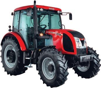 Трактор (Zetor Proxima)