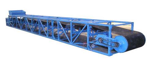 Конвейер ленточный роликовый желобчатый стационарный (КЛС(-1))
