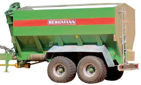 Машина перегрузочная (Bergmann GTW)