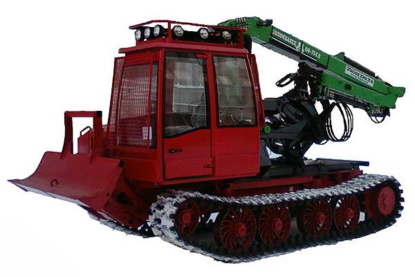 Трактор гусеничный лесопромышленный (Онежец-330)