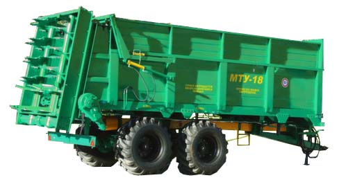 Машина для внесения твердых органических удобрений (МТУ)