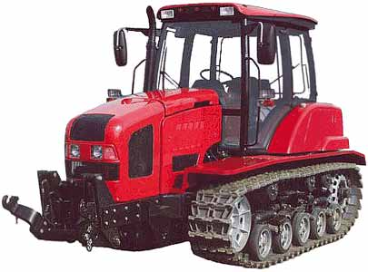 Трактор гусеничный (Беларус)