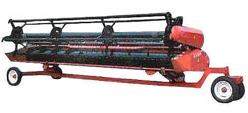 Жатка фронтальная для зерноуборочных комбайнов (ЖЗК-6)