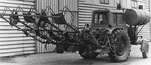 Машина для посадки рассады земляники (ПРЗ-4)