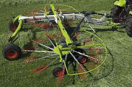 Валкоукладчик двухроторный с укладкой по центру (Liner)