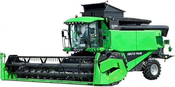Комбайн зерноуборочный (Deutz-Fahr 60)