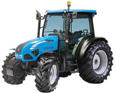 Трактор (Alpine)