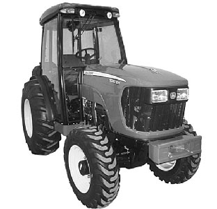Трактор компактный (John Deere 5000)