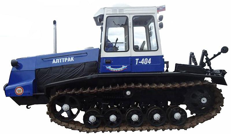 Трактор гусеничный (Т-404)