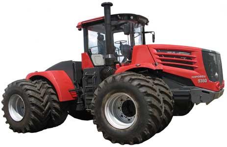 Трактор сельскохозяйственный общего назначения (Кировец К-9000)