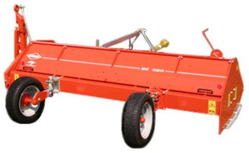 Мульчирователь полевой с горизонтальным ротором (Kuhn BK)