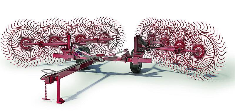 Грабли колесно-пальцевые (Kolibri V)