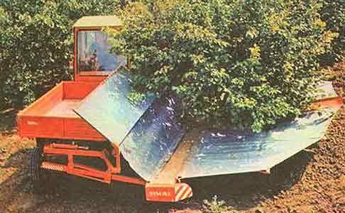 Машина для уборки плодов косточковых культур (ВУМ-15А)