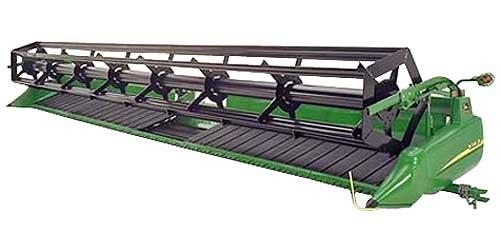 Жатка зерновая полотняная (John Deere 900D)
