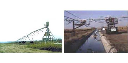 Машина дождевальная электрифицированная кругового действия (Кубань-ЛК1)