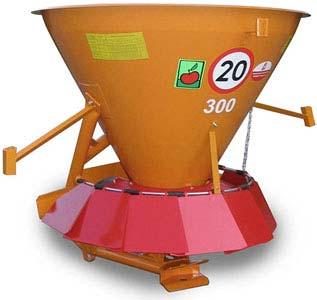 Разбрасыватель песка и соли навесной (ML 350)