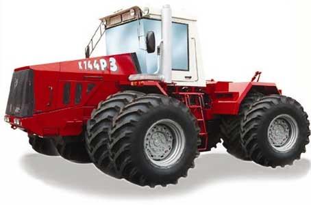 Трактор сельскохозяйственный общего назначения тягового класса8 (Кировец К-744Р3)