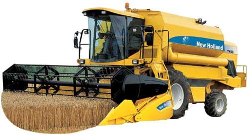 Комбайн зерноуборочный (New Holland TX (Plus))