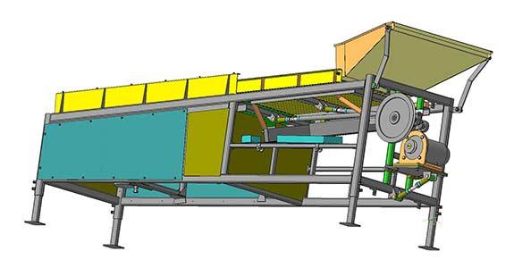 Машина для обрезки лука (МОЛ-2)
