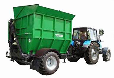 Полуприцеп для перевозки кукурузных початков (ППК-10)