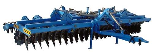 Агрегат почвообрабатывающий двухрядный (Уралец)