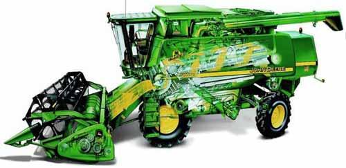 Комбайн зерноуборочный (John Deere 9780 CTS (iCTS))