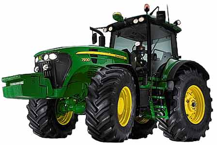 Трактор универсально-пропашной (John Deere 7030)