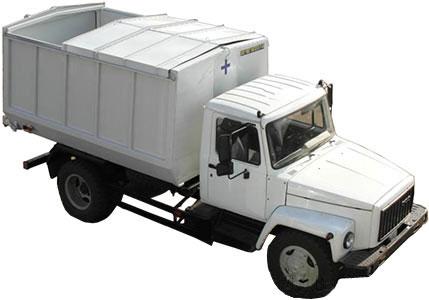 Автомобиль для транспортировки биологических отходов (АБО)
