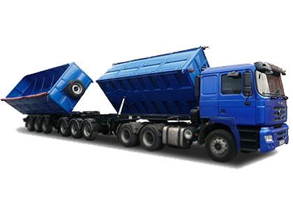 Автопоезд-зерновоз самосвальный (Тонар-9540)