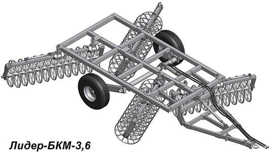 Борона кольцевая модульная (БКМ (БКС))