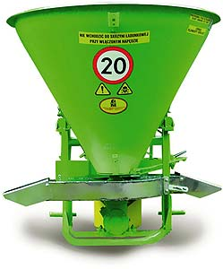 Разбрасыватель удобрений навесной однодисковый (RNZ)