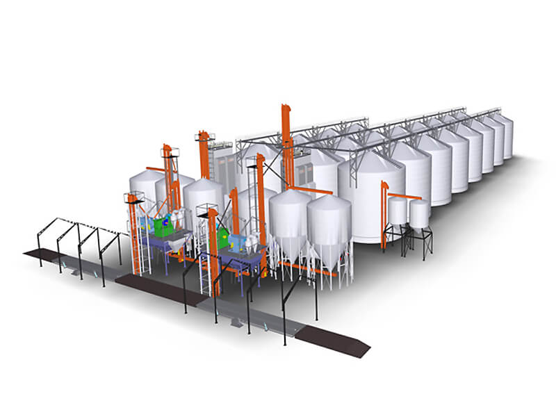 Цены на зерно с элеваторов роликовый конвейер конструкция