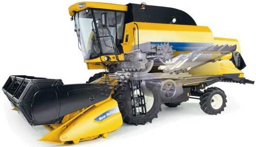 Комбайн зерноуборочный (New Holland TC5000)