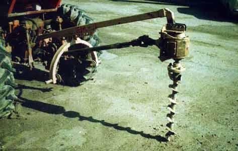 Бур механический (БМ-300)