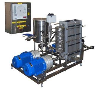 Установка для пастеризации и охлаждения жидких пищевых продуктов (ПМР-02-ВТ)